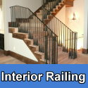 Custom interior railings